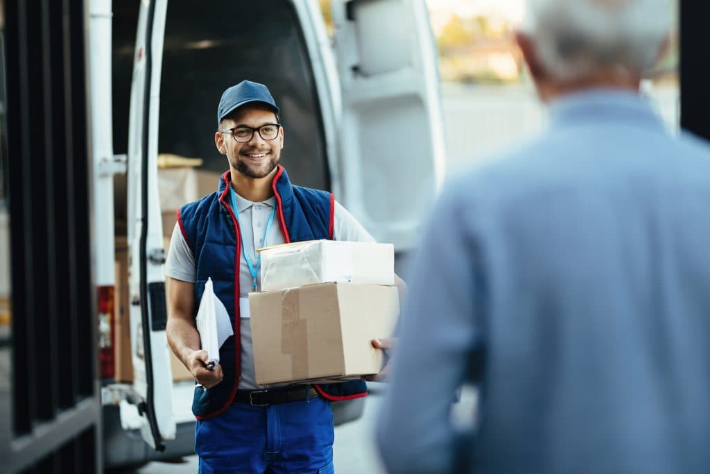 DZ-Logistics - Pakketbezorging